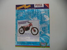 advertising Pubblicità 1986 MOTO FANTIC TRIAL 301