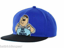 "BIO WORLD FAMILY GUY ""NO FAT CHICKS""  SNAP BACK HAT/CAP - OSFM"