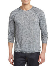 NWT JOHN VARVATOS STAR USA SzXL RAGLAN CREW NECK LONG SLEEVE TEE ASH HEATHER $98