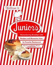 Welcome to Junior's Brooklyn NYC Restaurant Cookbook Recipes History Cheesecake