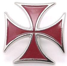 """Maltese Cross Line 24 Snap Cap Red Nickel 1"""" 1265-38"""