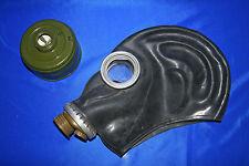 DDR schwarze Gasmaske unbenutzt NVA ABC Schutzmaske GP 5 Atemschutz Gr. 3