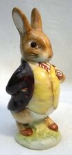 BESWICK  BEATRIX POTTER BENJAMIN BUNNY BP3A MAROON JACKET PIPE IN