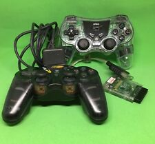 Nyko Wireless Mad Catz dual force 2 controllers Playstation Receiver Dongle PS2