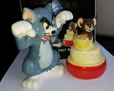 Cartoon Network Warner Brothers 1998 Tom and Jerry Salt and Pepper Shakers