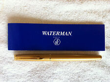 Waterman Hemisphere Stardust Gold Fountain Pen Paris with manual