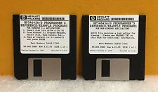 HP/Agilent 54645-68700 Set of 2 Software Disks for 54645A/D Oscilloscopes, New