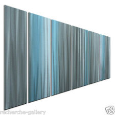A Sense Of Calm Metal Art for Modern Settings Abstract Wall Sculpture