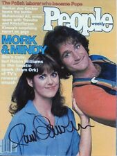 PAM DAWBER Signed 7x5 Photo MORK AND MINDY COA
