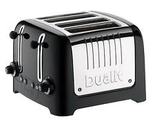 DUALIT 46205 LITE 4 SLICE TOASTER BLACK *BRAND NEW*