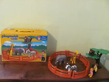 PLAYMOBIL 123 @ LE ZOO @@ 100% COMPLET @@ PERSONNAGES / ANIMAUX @@ TBE
