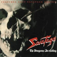 SAVATAGE - The Dungeons Are Calling (with skull cover) [Bonus Tracks] CD