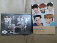 EXO K EXO-K  KPOP PHOTOBOOK 64 PGS+DIARY PGS AND 12 CUT POSTERS BRAND NEW