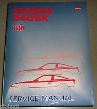 Werkstatthandbuch / Service Manual Nissan 240SX S13 1991
