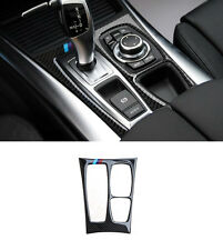 Carbon Fiber Trim For BMW X6 E71 2009-14 Interior Console Gear Panel Cover Trim