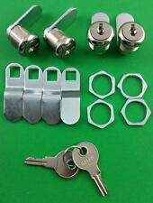 "RV Motorhome Trailer Storage 5/8"" Door Cam Lock Set Of 4 18-3310"