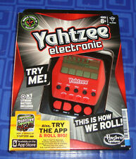 Yahtzee Electronic Handheld Travel Game Electronic New In The Package Awesome