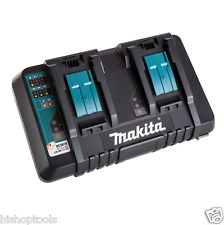 Makita DC18RD Dual Port 14.4-18V Rapid Battery Charger USB For 2 BL1830 1850