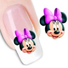 Nail Art Sticker Water Decals Transfer Stickers Minnie & Mickey Mouse (DX1238)