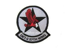 USAF Air Force Area 51 Black Ops Military Det 2 57th Wing Aviation Patch New