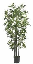 Nearly Natural 5294 Bamboo Silk Tree- 6-Feet- Green NEW