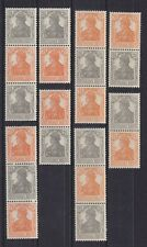 Germania 1916/17 stampe insieme S 11 a-s 14 A + S 11 B-S 14 B ** Gepr. COMPL..