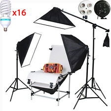 Product 16*150W 100x200cm Shooting Table Set Photo Studio Continuous LightingKIT