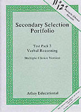 11+ Secondary Selection Portfolio Test Pack 3: Verbal Reasoning Practice Papers
