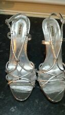 Silver Dune strappy shoes