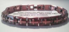 COPPER CROSS CROSSES in COPPER BARS MAGNETIC MENS LADIES BRACELET PRO THERAPY