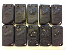 LOT OF 10 LAND ROVER RANGE ROVER 95-01 REMOTE OEM FLIP KEY LESS ENTRY SWITHBLADE