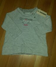 NWT DIESEL Distressed look girls sweater. Size 6 Months