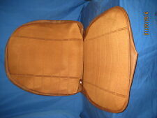 MG   NEW PAIR OF MGB GT AUTUMN LEAF  CLOTH SEAT COVER KIT FOR RECLINING SEATS