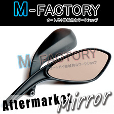 Aftermarket Black Mirrors Ducati Monster 696 796 08 09 10 11 2012 Diavel