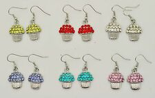 Wholesale Jewelry lot 6 pairs Silver Plated Drop Fashion Dangle Earrings#ZZ03