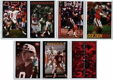 7 COUNT OF 1990s NIKE & COSTACOS POSTER CARDS STEVE YOUNG SF 49ERS ad