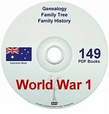 Family History Tree Genealogy World War One WW1 ANZAC diggers Australia NZ