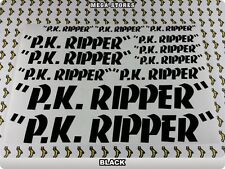 P.K. RIPPER Stickers Decals Bicycles Bikes Cycles PK Frames Forks Mountain  61Z