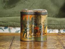 Antique Huntley & Palmers Fire Brigade Biscuit Tin Distintive Shape Lithograph