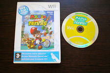 Jeu MARIO POWER TENNIS pour Nintendo Wii PAL (pas de notice) (CD OK)