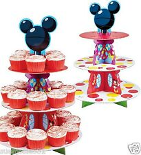 Disney Mickey Mouse Cupcake Treat Stand 1ct Centerpiece Party Supplies by Wilton