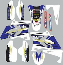Yamaha WR450f 2012-2015 Graphics Decal fender shrouds sticker
