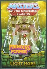 MOTUC Light Hope Exclusive Club Etheria In Hand 2014 He-Man Sub Exclusive
