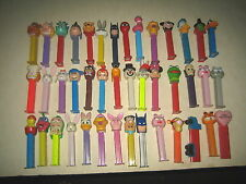 "42 RARE HTF COLLECTABLE PEZ LOT "" SOLD AS IS """