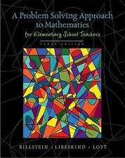 Problem Solving Approach to Mathematics for Elementary School Teachers, A (10th