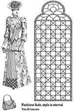 Sin montar sellos de goma-Lady Crawford Victoriano - 5043-reducido