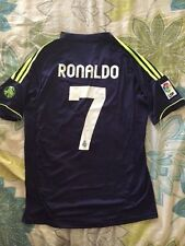 REAL MADRID CRISTIANO RONALDO SHORT SLEEVE 2012/13 AWAY JERSEY SIZE SMALL