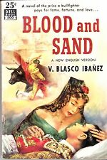 1951/ BLOOD AND SAND/ Vicente Blasco Ibanez/ Dell Mapback # 500 / Bullfighting