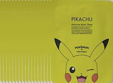 Tonymoly  Pokemon  Pikachu  Moisture Mask Sheet  x  17 sheets Honey extract
