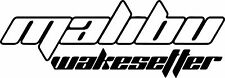 Large Malibu Wakesetter Boat Sticker JetSki Fishing Ally Craft Haines Sea-ray